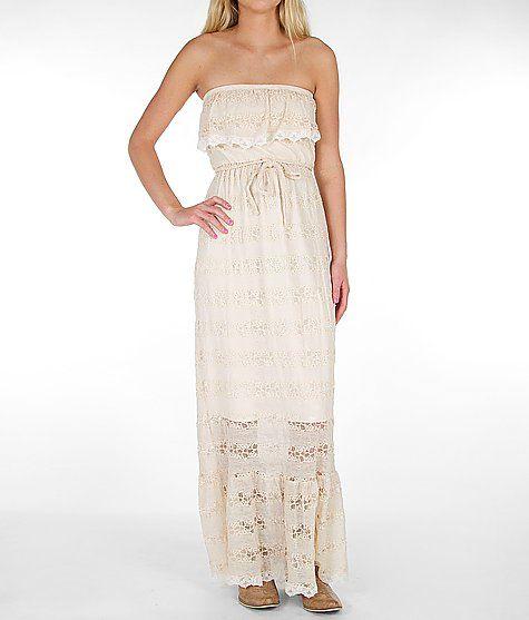 Daytrip Lace Tube Top Dress