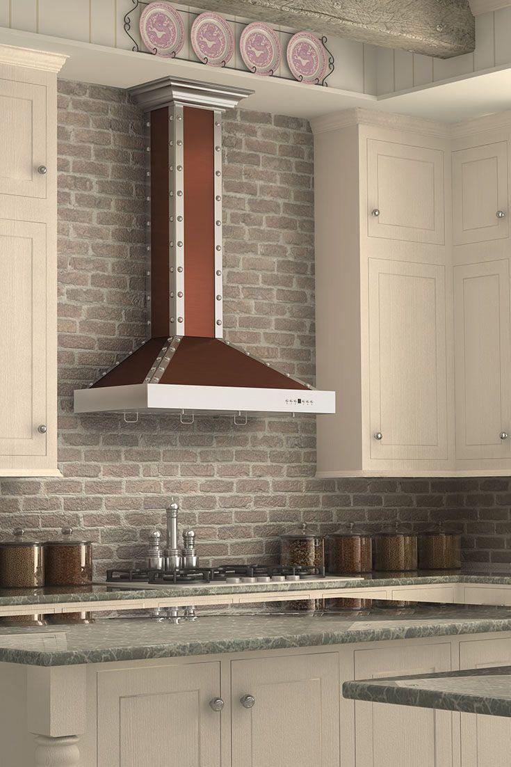 Remodel Your Kitchen With The ZLINE KB2 CSSXS Designer Wall Mount Copper  Range Hood,