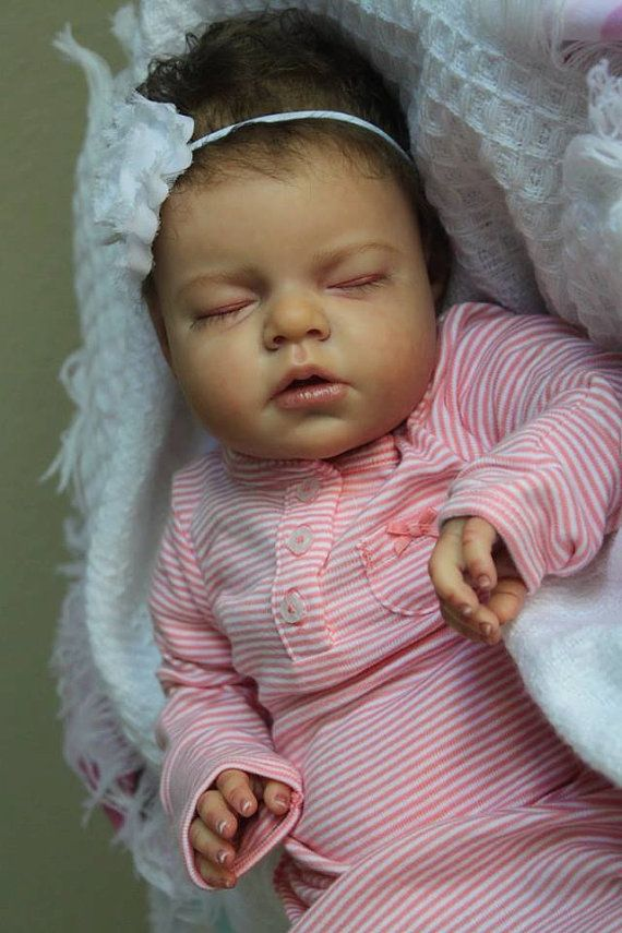 "CUSTOM* Reborn Baby Newborn Doll, ""Noah"" by Reva Schick, Choose Hair…"