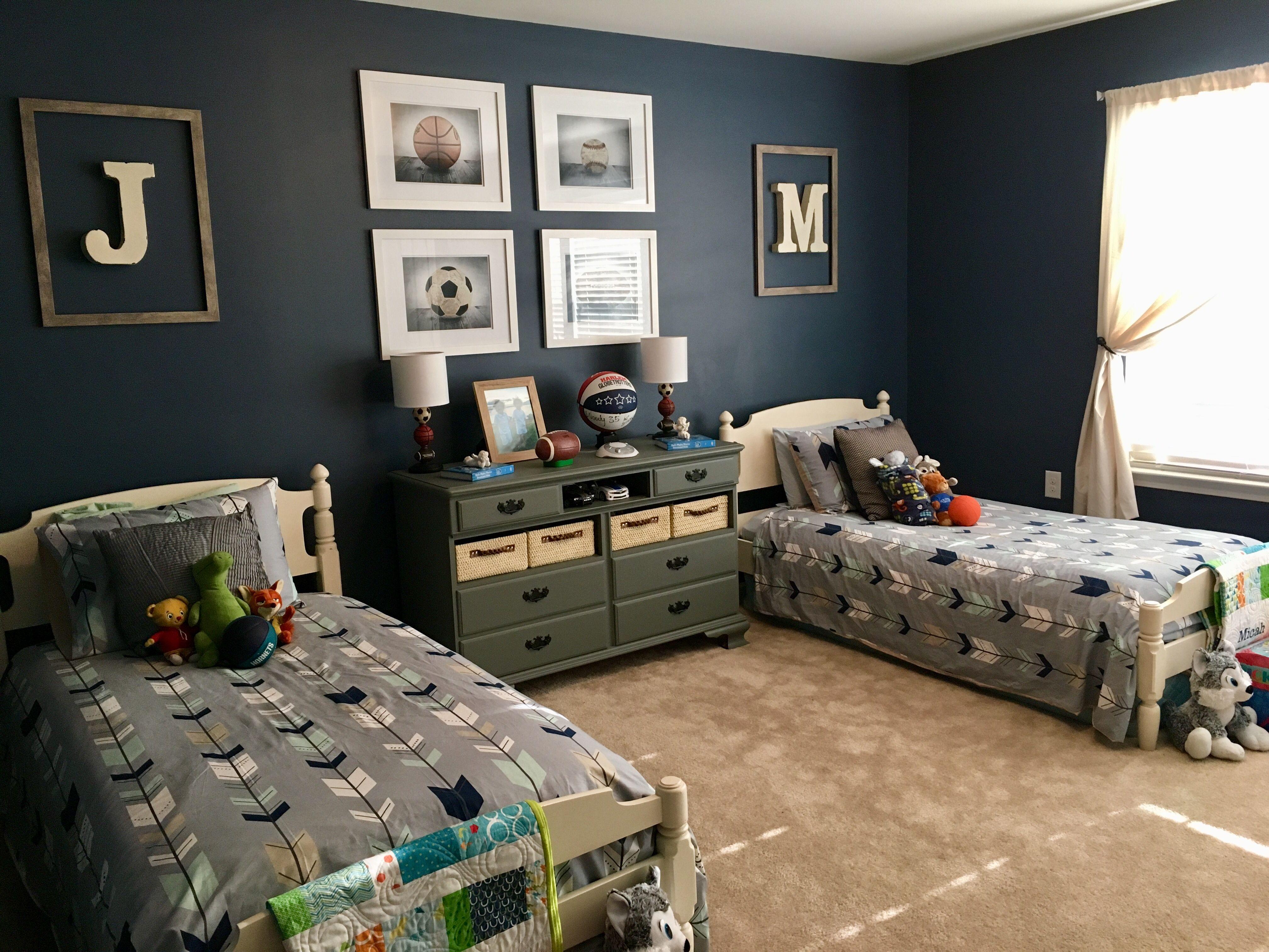 exciting twin boys bedroom ideas | Twin Room in 2019 | Boy room, Boys room decor, Kids bedroom