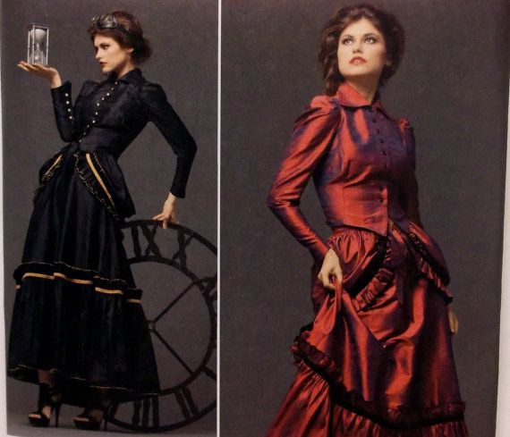 Steampunk Costume Pattern, Victorian Era Costume Pattern, Steampunk ...