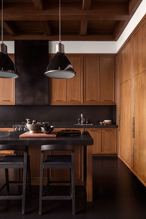 Kitchens With Wood Paneling: CONTEMPORARY CLASSIC: A Wood Paneled Man Nest
