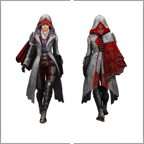 Evie Frye Outfit V4 02 Png 578 578 Assassins Creed Female Assassins Creed Cosplay Assassins Creed Costume