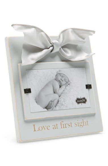 Mud Pie \'Love At First Sight\' Wooden Picture Frame (3x5) available ...