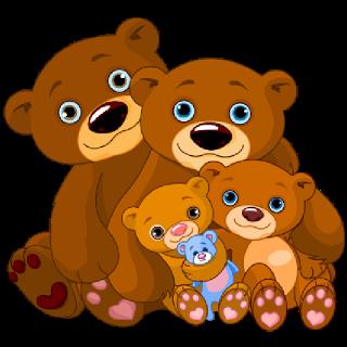 Mother And Baby Bear Cute Bear Images Urso Desenho Animado Clipart De Urso Ursos Fofos