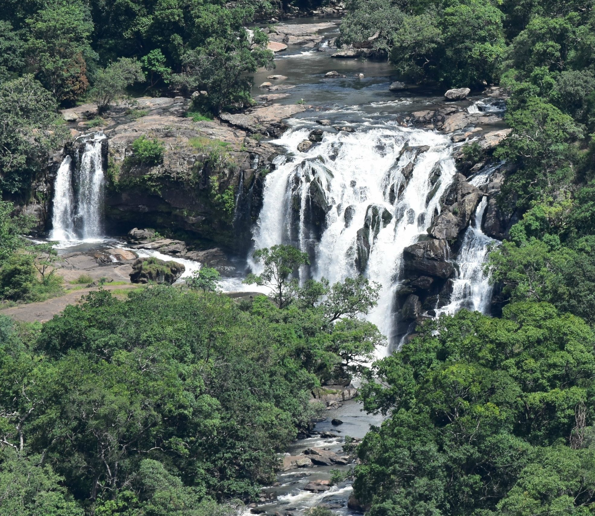 Thoovanam Waterfalls- Hike to the waterfall through the