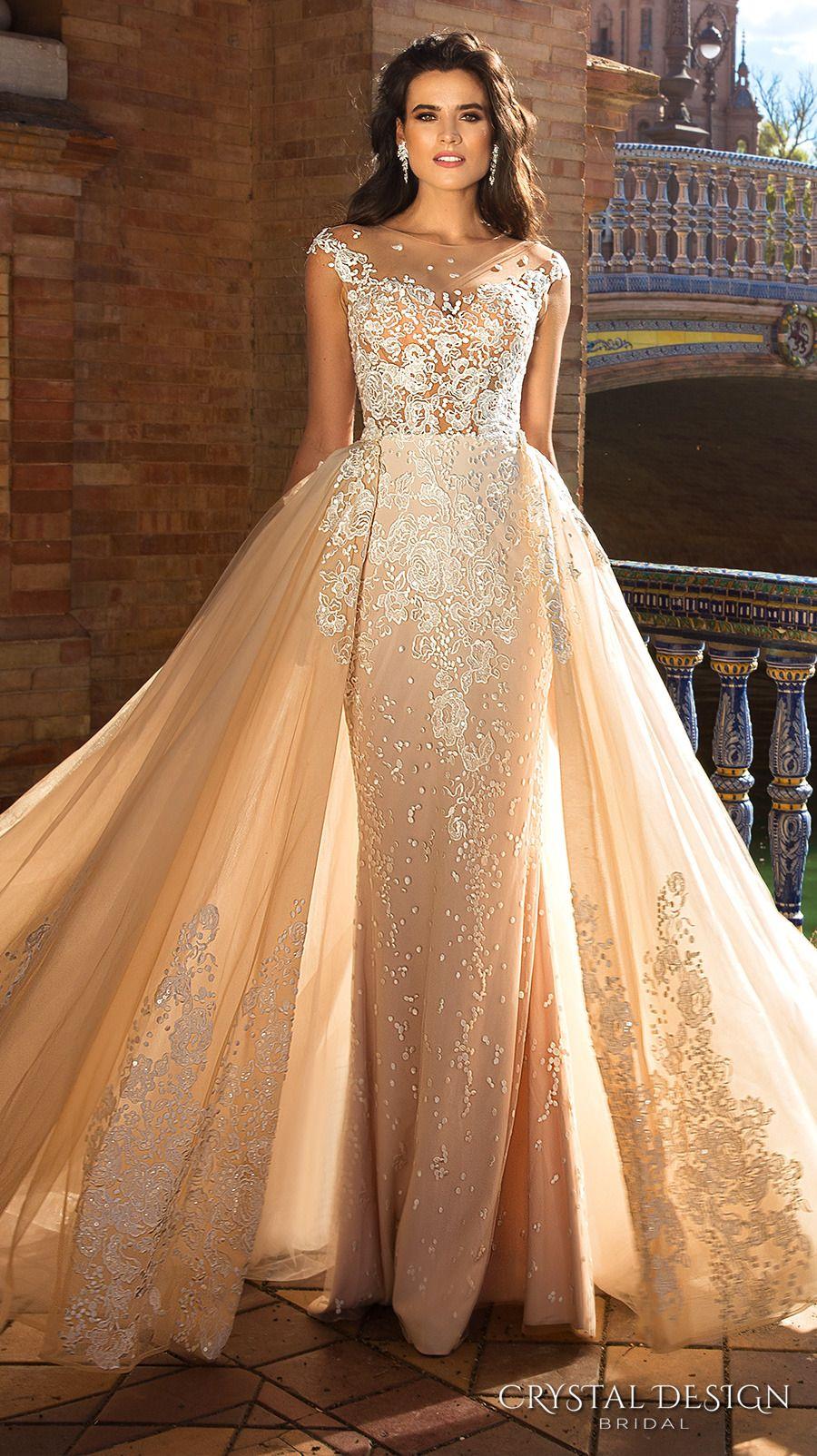 Beautiful Wedding Dresses From The 2017 Crystal Inspirasi Tumblr