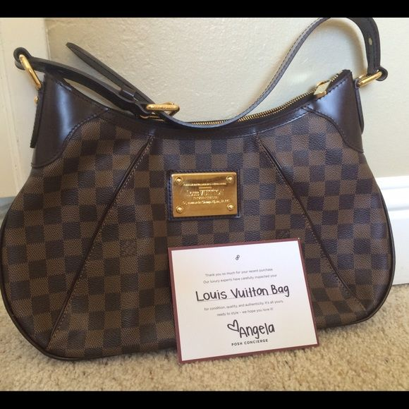 a9276b0b82 Louis Vuitton Thames GM 100% AUTHENTIC... PURCHASED HERE... AUTHENTICATED
