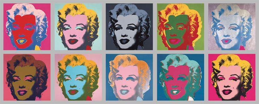 andy warhol - 10 marylins | Art Movement - The Expressionists and ...