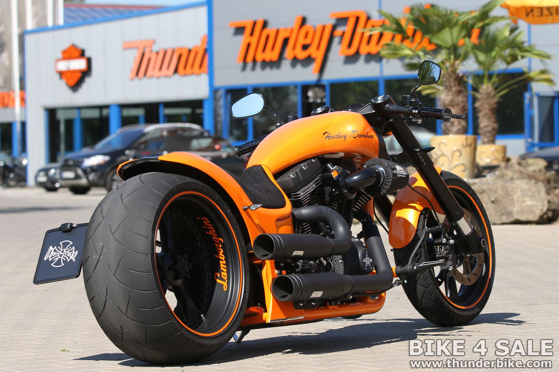 Lamborghini Tribute Bike By Thunderbike Customs