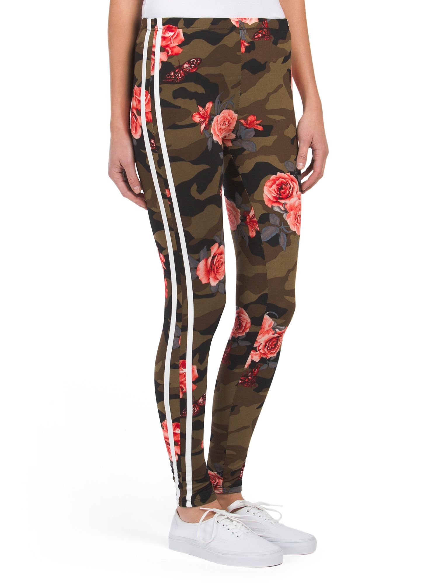 029485038a1381 TJ Maxx, $5, Large Camo rose leggings Jeans Pants, Leggings Are Not Pants