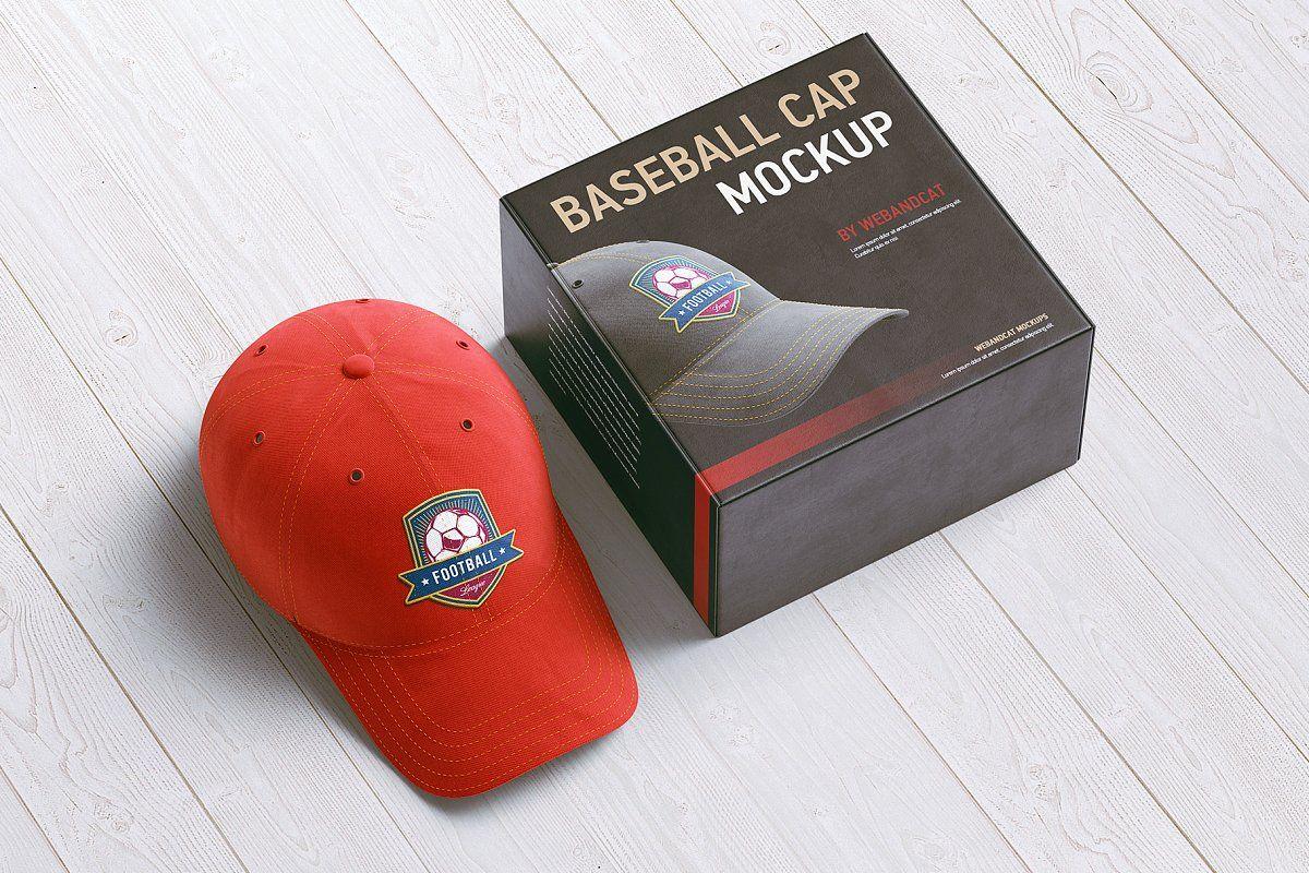 Download Baseball Cap 3d Mockup Baseball Cap Mockup Cap