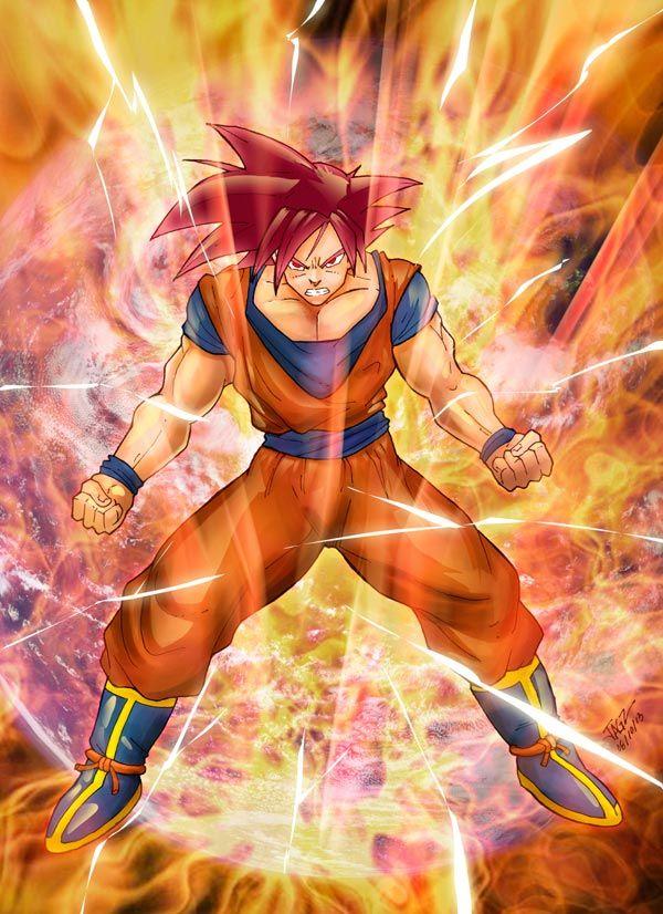 Goku Illustration by Juan García - Visit now for 3D Dragon Ball Z shirts now on sale