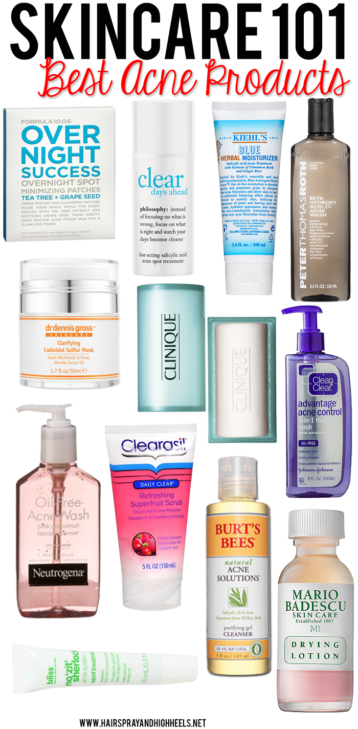 Skincare best acne products acne products makeup and face