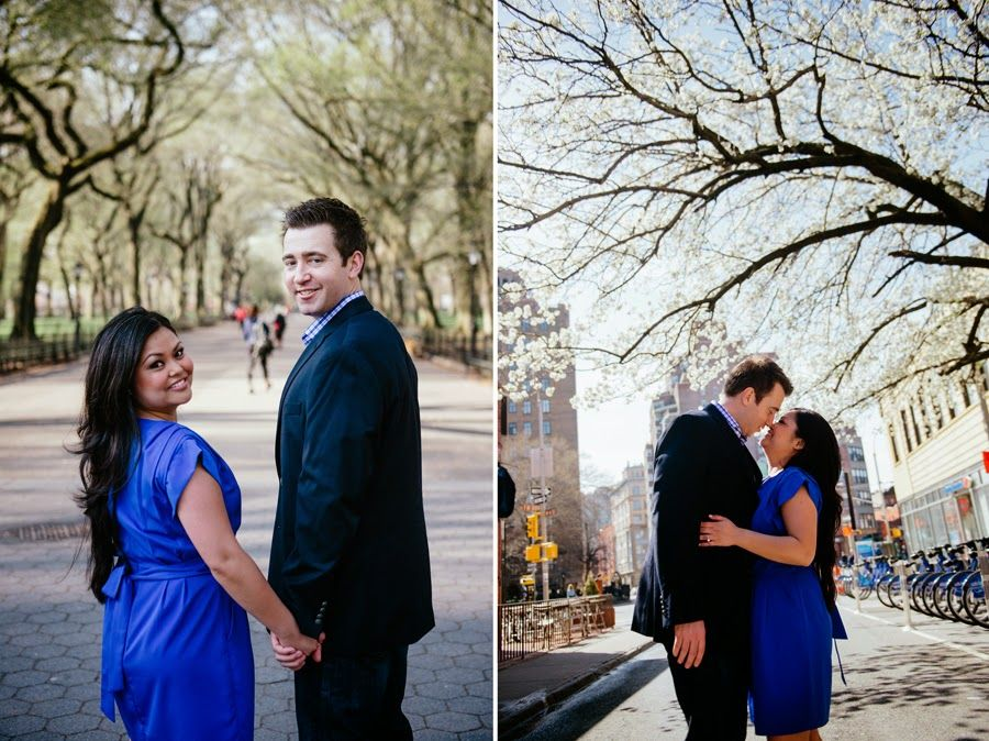 Destination NY: Janelle and Steven's Engagement Session by Gerber+Scarpelli Photography