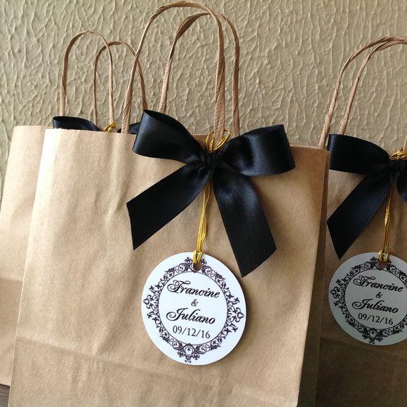 Bolsa De Papel Personalizada Casamento : Sacolas personalizadas casamento kraft bolsas de papel