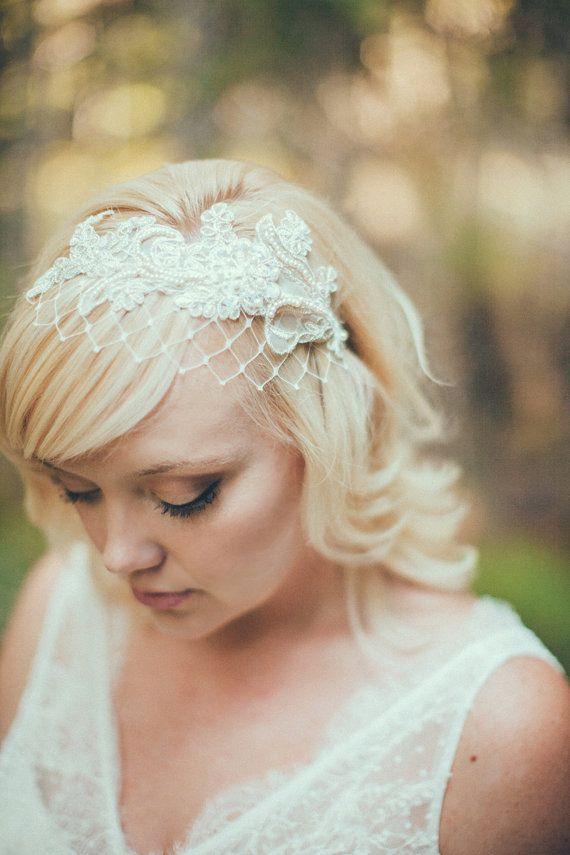 Birdcage Bridal Veils Wedding Ideas
