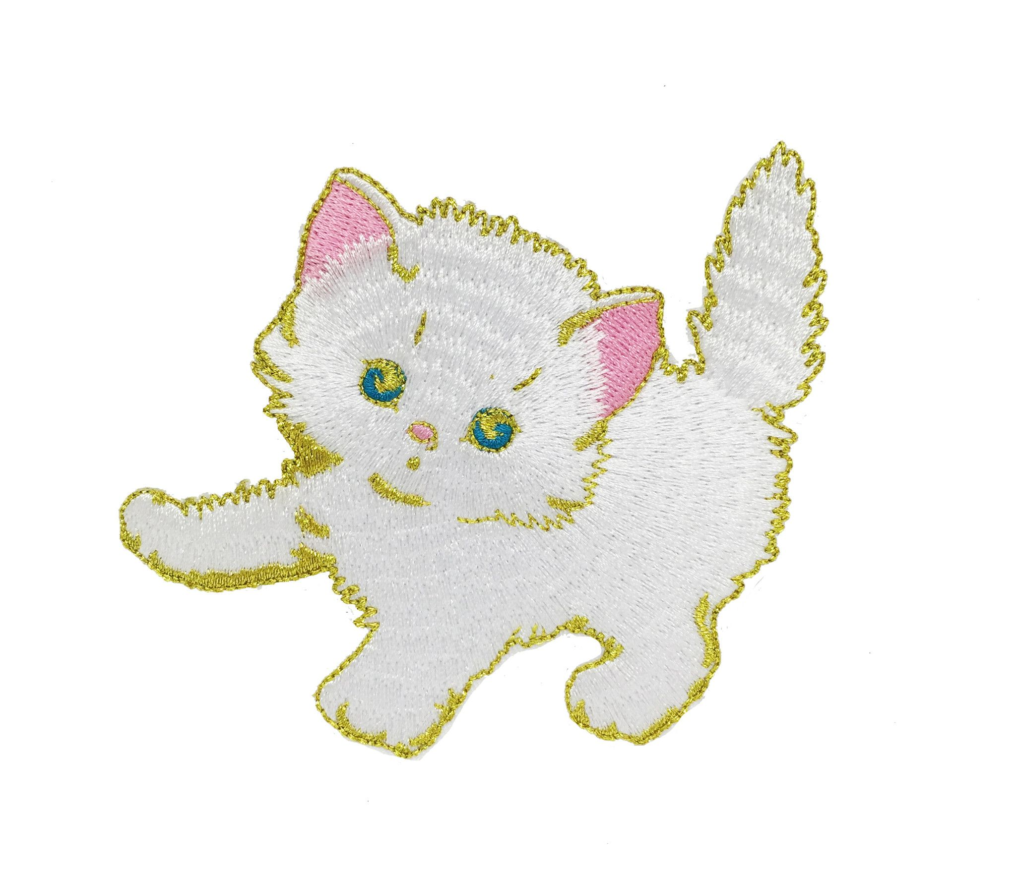 WHITE KITTY PATCH