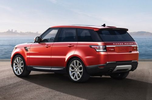 2015 Range Rover Sport OffRoad SUV in Chile Red Electronic cross