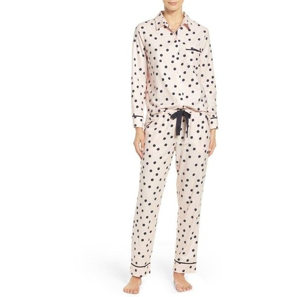 8ad575f292b Women s Kate Spade New York Flannel Pajamas ( 88) ❤ liked on Polyvore  featuring intimates