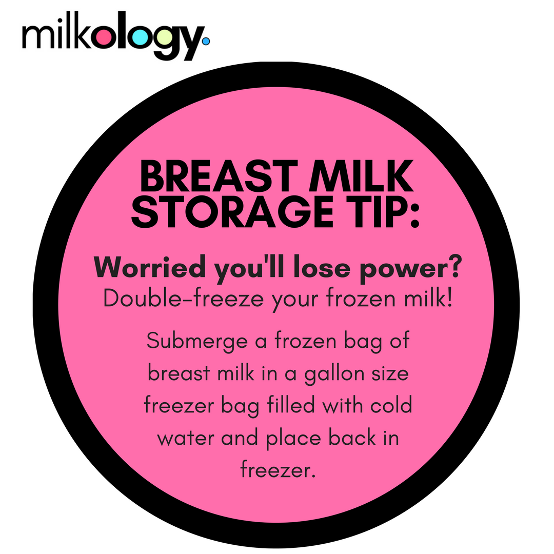 This Will Extend The Storage Life Of Your Frozen T Milk For At Least A