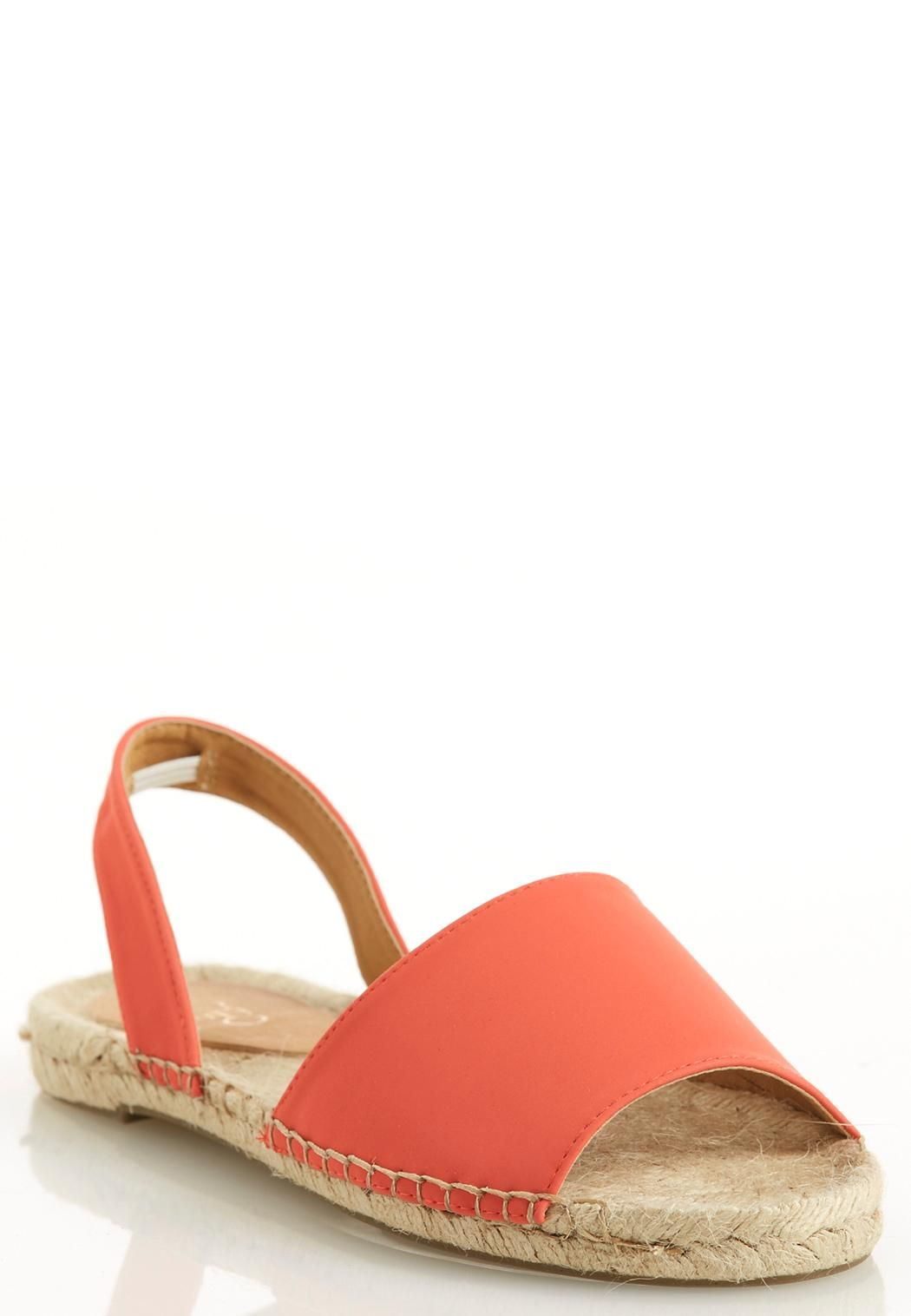 dccfdbf3f Peep Toe Espadrille Sandals Flats #CatoFashions | Cookout Classics ...