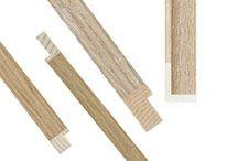 Aste cornici in legno, aste cornici in alluminio, aste per