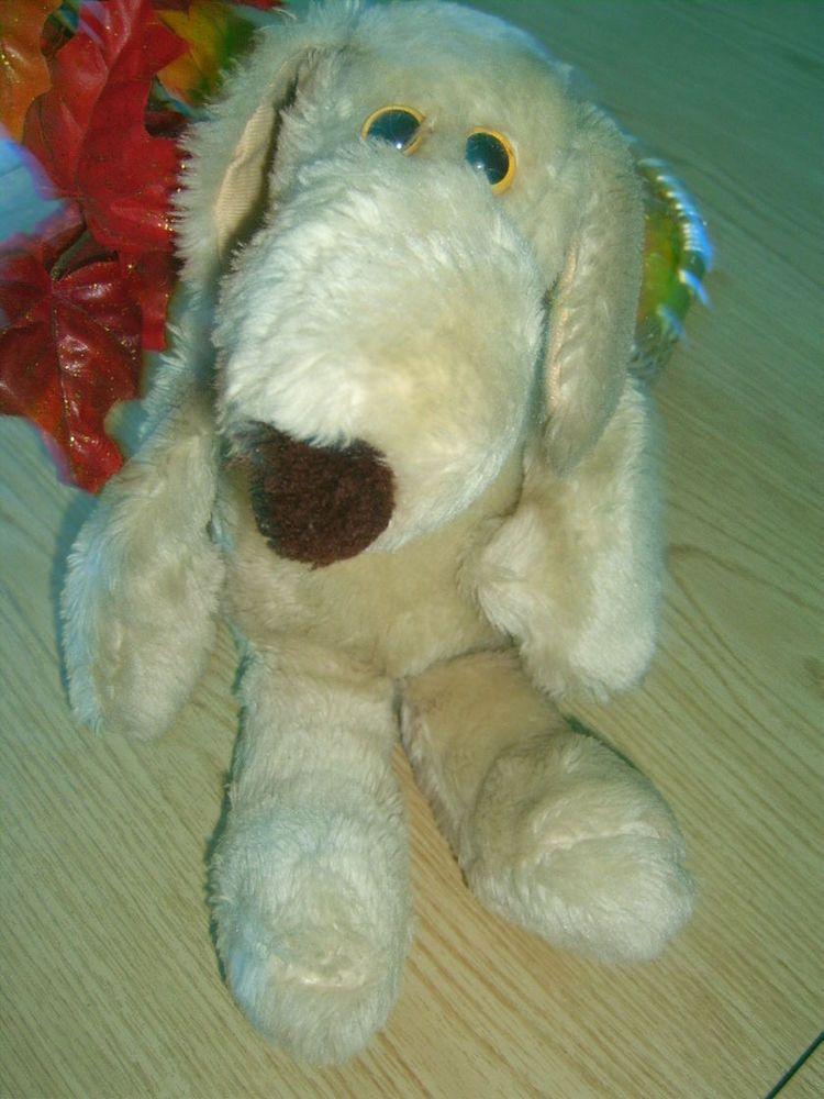 "Vintage LE MUTT Stuffed Plush Dog Francesca Hoerlein LeMutt 1986 16"" Rare! #FrancescaHoerlein"