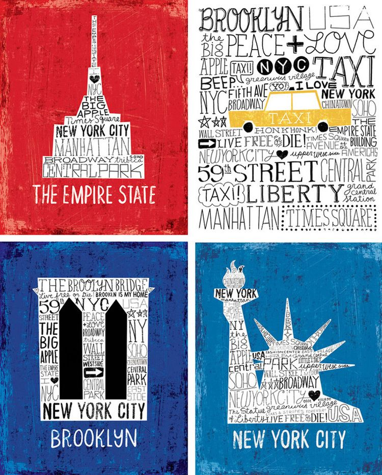 The Big Apple Collection  The Big Apple Collection is available as prints & licensed products. © Michael Mullan. 2012