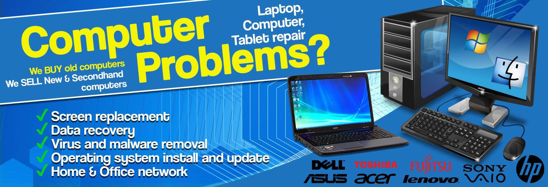 Solutions For Computers And Laptops Computer Repair Services Laptop Repair Computer Repair
