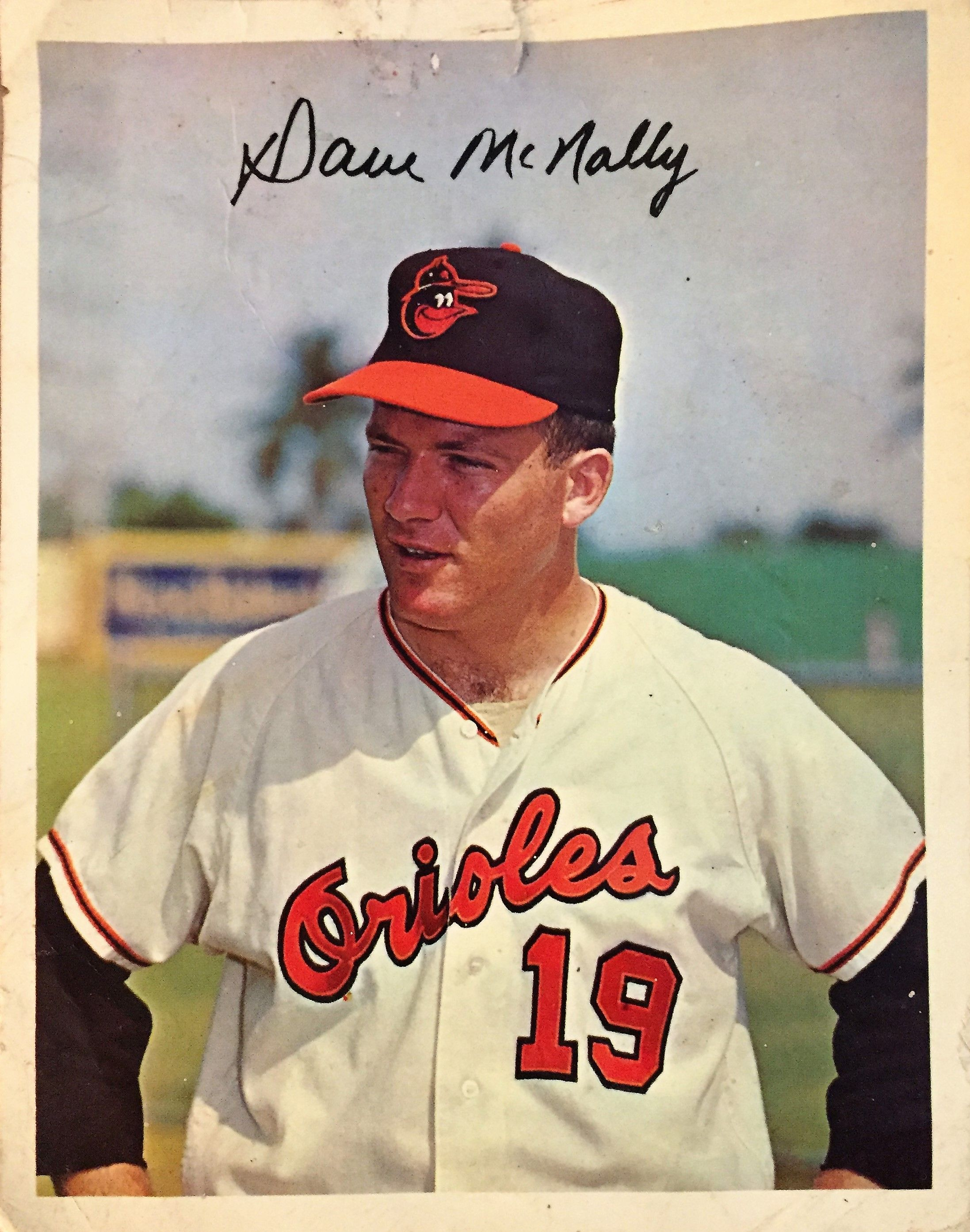 Pitcher Dave Mcnally In Late 1960s Baltimore Orioles Baseball Players Orioles
