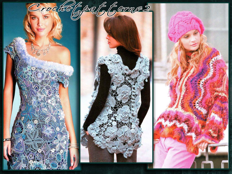 Instant Download PDF ebook - crochet patterns. Women\'s crochet and ...