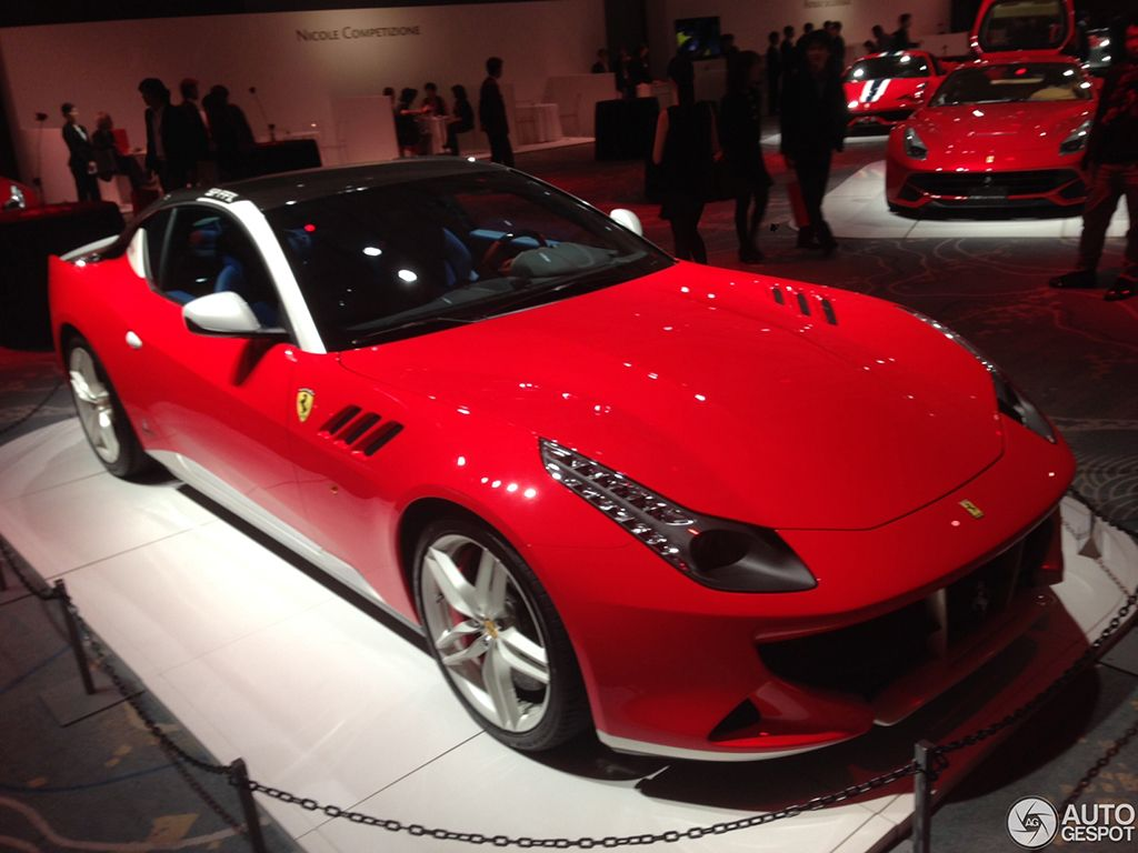 Based on the current four seater ff model 2014 ferrari sp ffx project showed up just as rumors with coupe body styling designed by ferrari