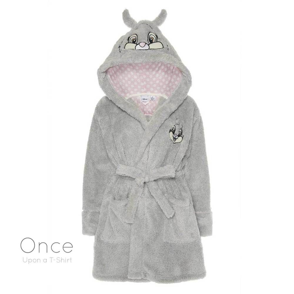 Primark Ladies Disney Thumper From Bambi Bath Robe Dressing Gown