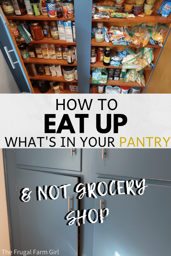 How to live what39s in your pantry and save serious money How to live whats in your pantry and save serious money