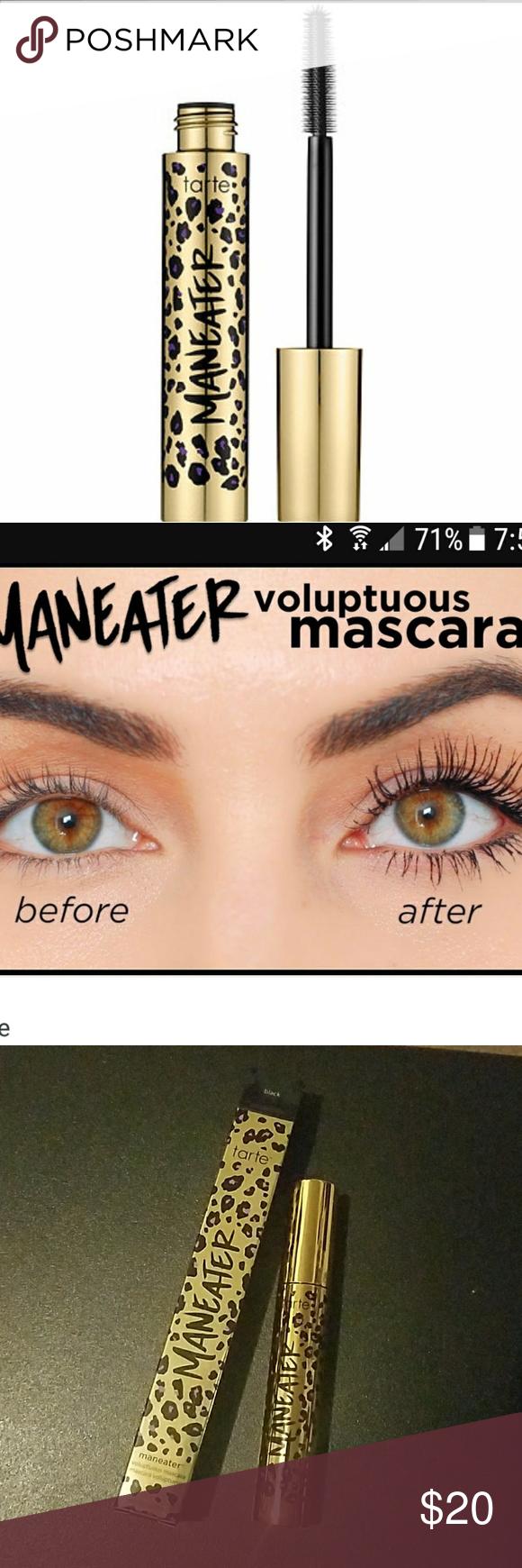 6b4527cc45a Tarte manager black mascara double duty length Brand new in box tarte  double-duty Beauty