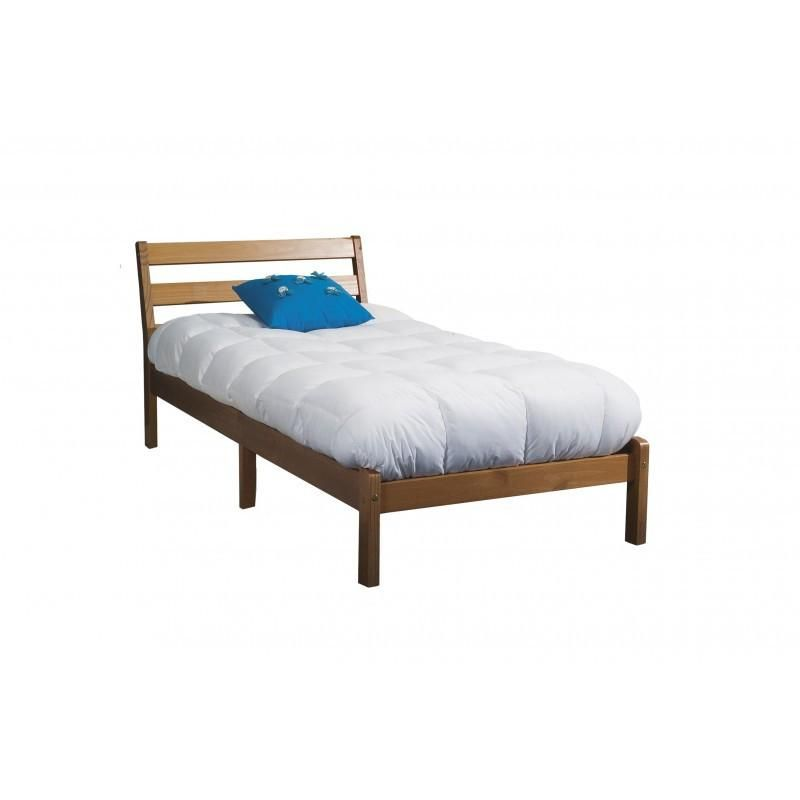 Bed Frame In A Box Inclined 3ft Antique Solid Wood | Beds ...
