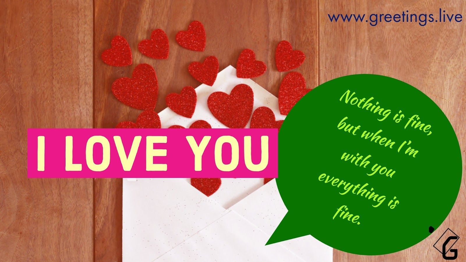 I Love You Love Letters Greetings Hd Good Words Xyz Pinterest