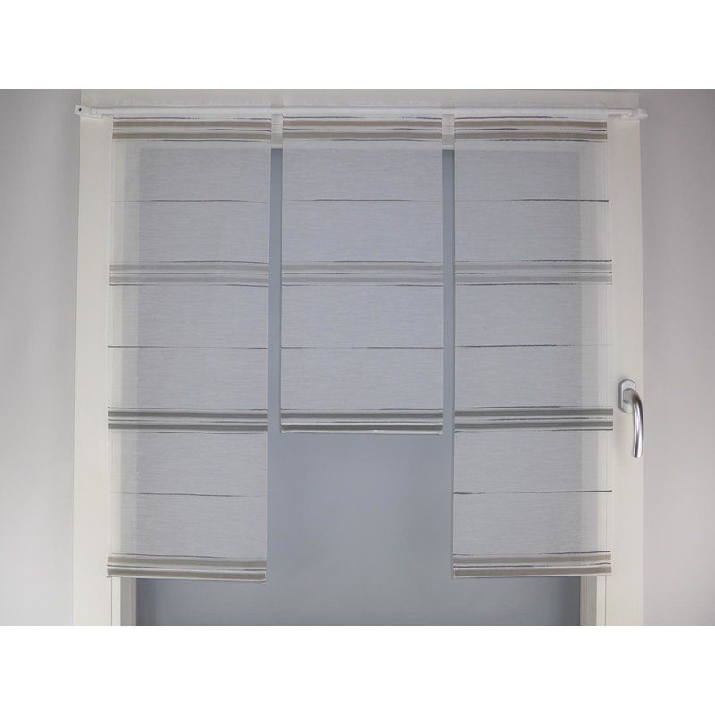 Miniflächen-Set schlamm grau anthrazit quer gestreift, seitlich - Wandgestaltung Wohnzimmer Grau Lila