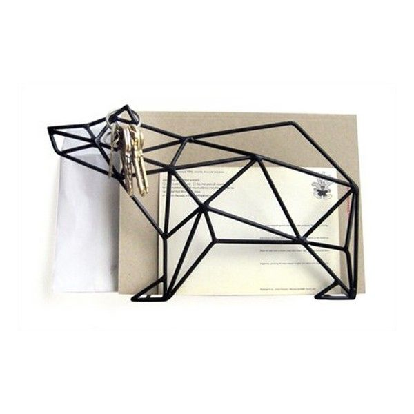 Porte Courrier Mural Design Original Ours Manta Design | Ecal