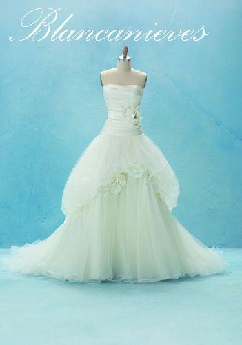 Disney Bridal: vestidos de novia de princesa | Wedding dress and ...