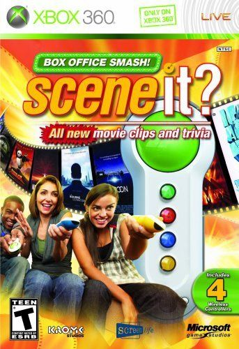 Nice, I love it -  Scene It? Box Office Smash Bundle - Xbox 360 / http://www.holidaygoodness.com/scene-it-box-office-smash-bundle-xbox-360-2/