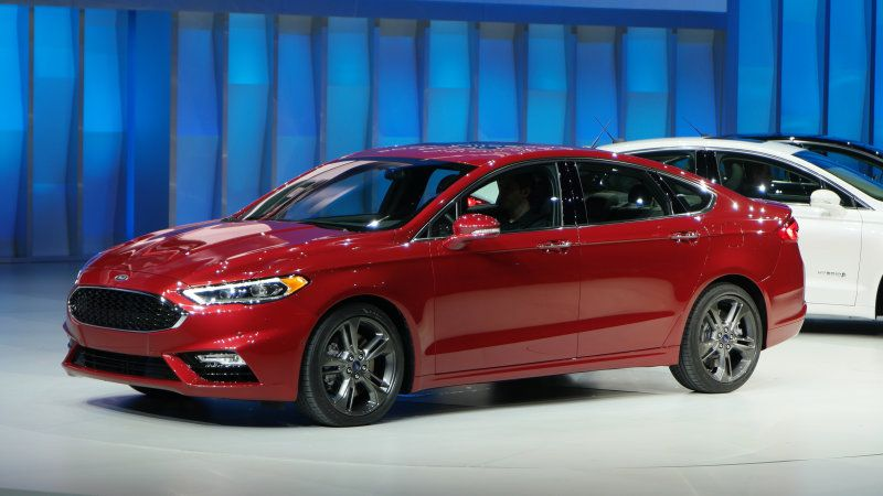 2017 Ford Fusion Sport brings fresh face and turbo