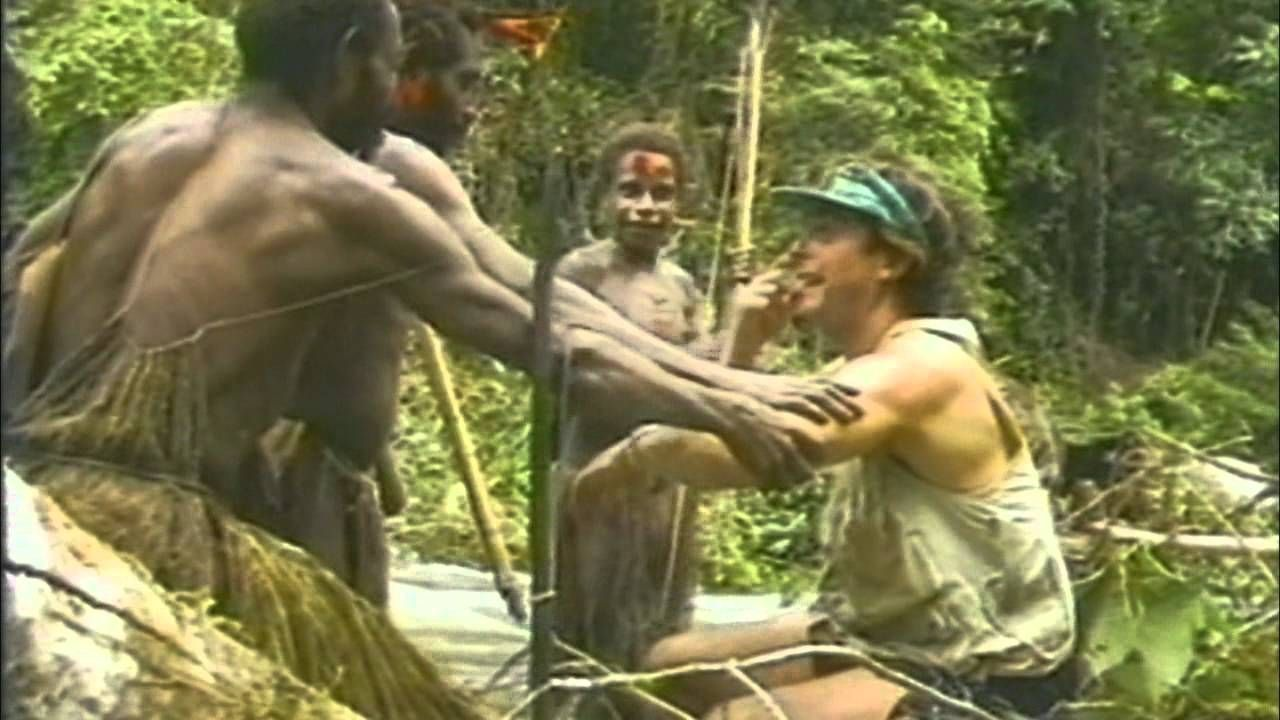 Tribe Living In Jungle Meets Outsider For The First Time
