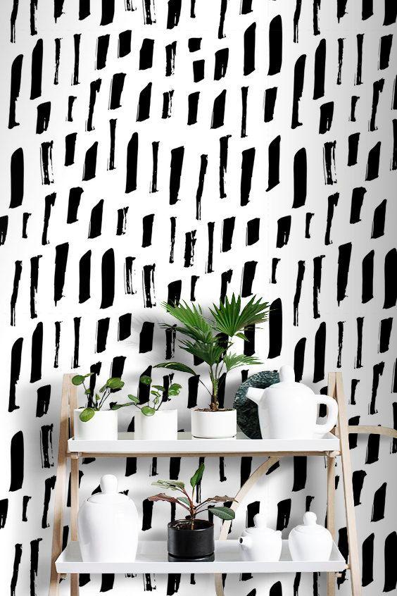 le papier peint adh sif et autocollant le guide complet adh sif papier peint parement. Black Bedroom Furniture Sets. Home Design Ideas