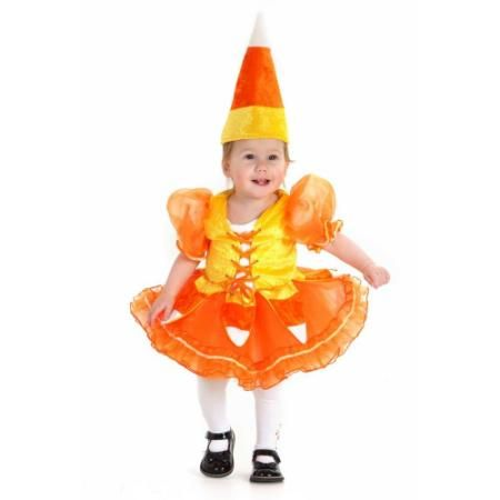 Candy Corn Princess Infant Costume