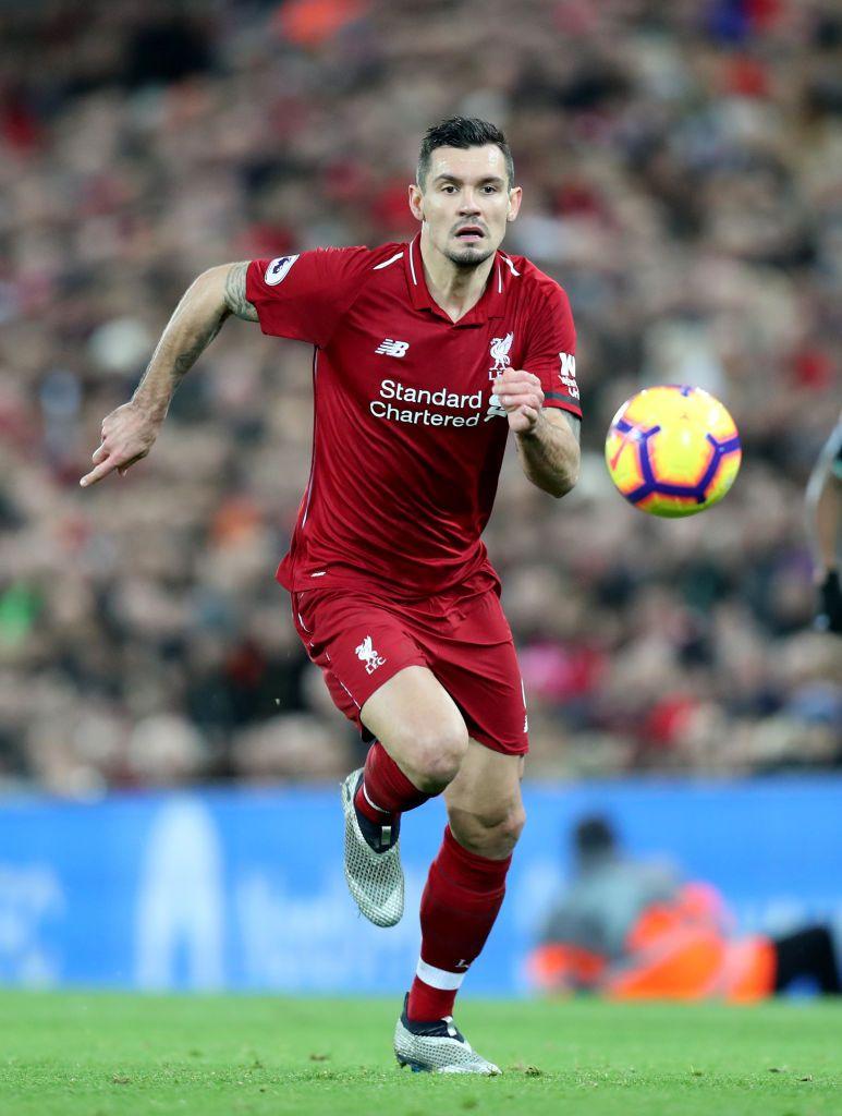 Dejan Lovren Of Liverpool During The Premier League Match Between Dejan Lovren Premier League Matches Liverpool