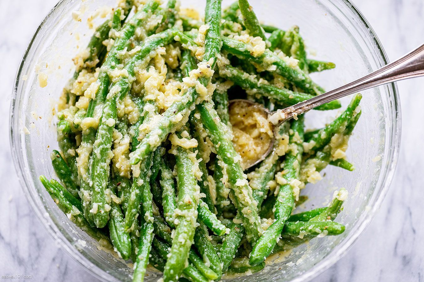 Roasted Garlic Parmesan Green Beans -  Roasted Garlic Parmesan Green Beans – – These epic roast