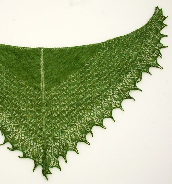 Laminaria - Spring 2008 - Knitty free pattern lace knit ...