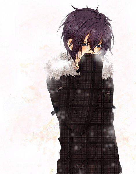 Messy Hair And Fur Coats Anime Boy Awesome Anime Anime